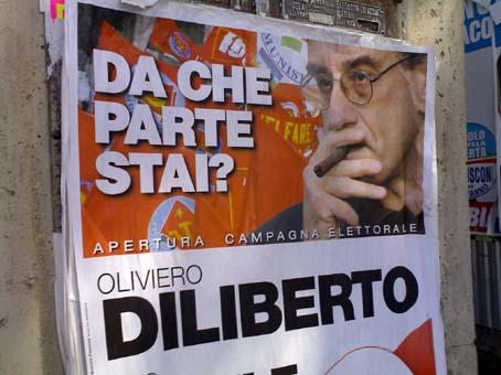 Da che parte sta Oliviero Diliberto? La risposta è una sola: con i Gom