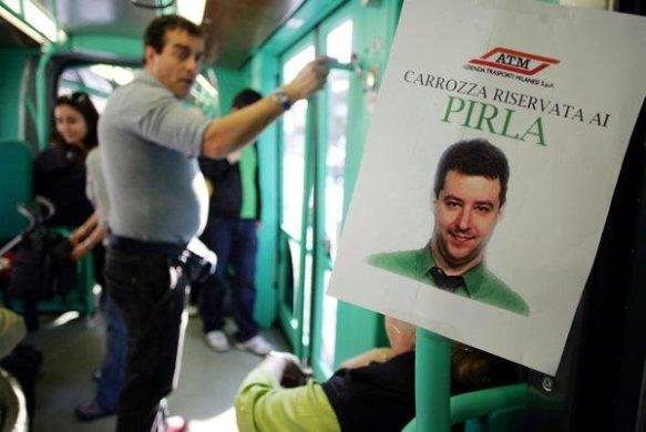 Salvini, il leghista che ha proposto l'apartheid nella  metropolitana milanese