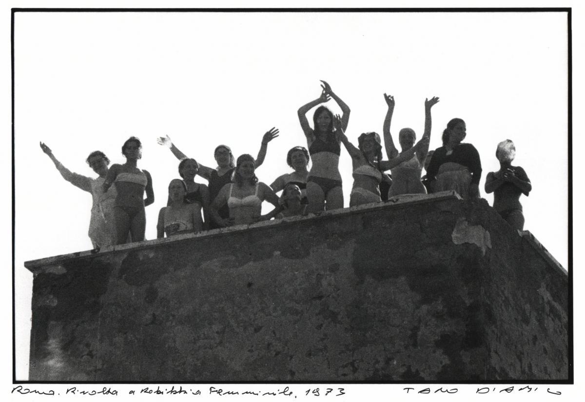 Rebibbia femminile in rivolta, 1973 - foto Tano D'Amico