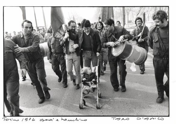 Torino, 1974 foto Tano D'Amico