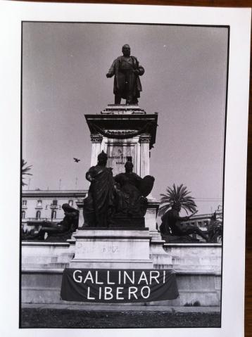 1990 - Presidio davanti alla Cassazione per chiedere la scarcerazione di Prospero Gallinari