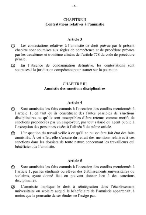 Amnistie 3