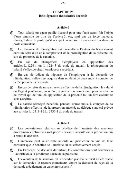 Amnistie 4
