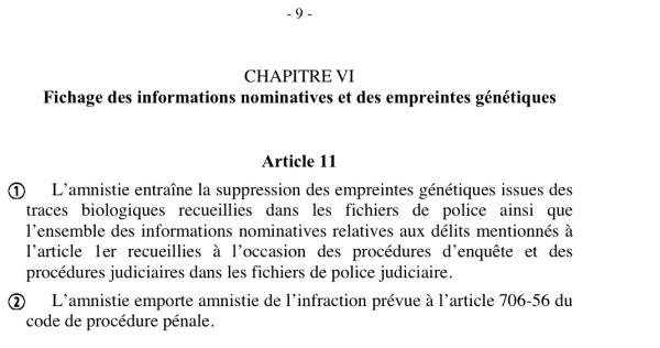 Amnistie 9